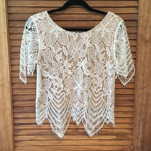 Express Lace Top